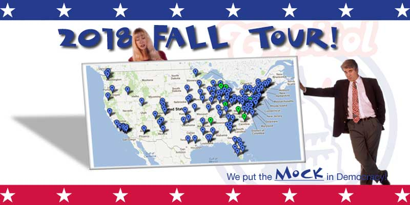 The Capitol Steps:  Fall Tour 2018!